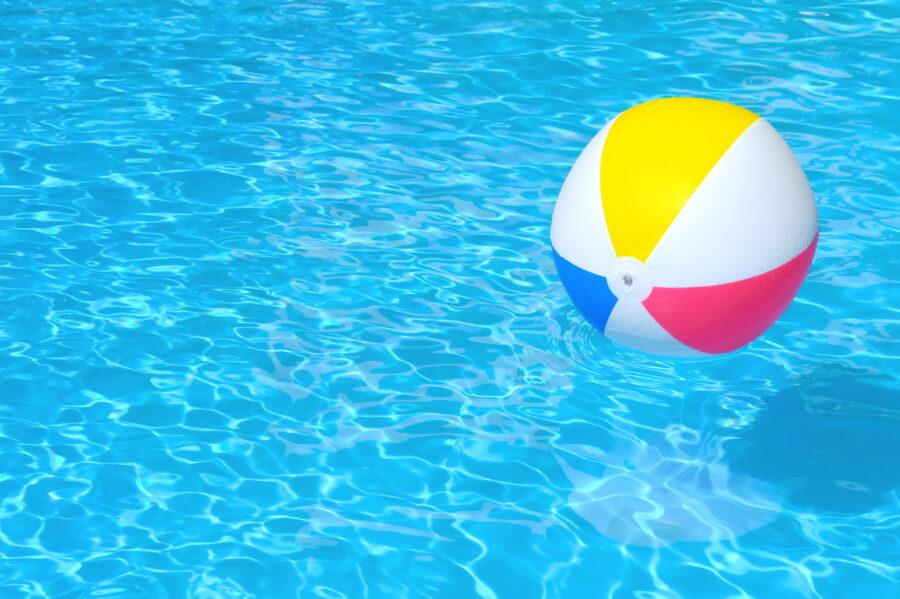 agua piscina clara