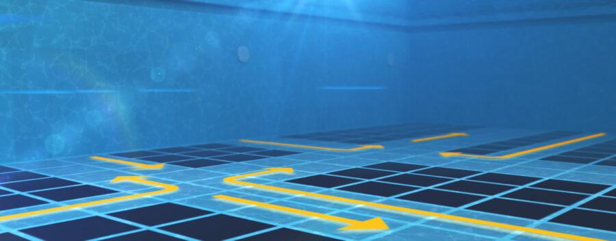 Robot limpiafondo