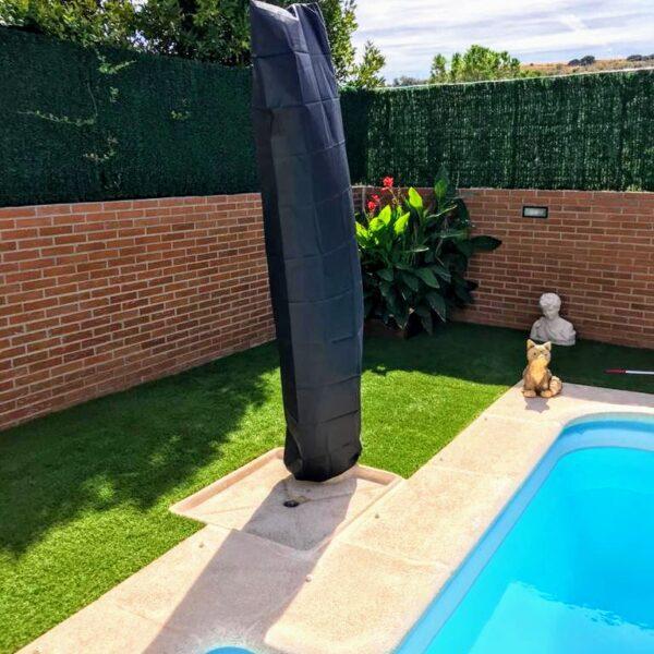 funda ducha piscina